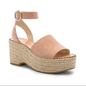 Dolce Vida Espadrille Wedge Lesly in Rose